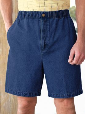 Scandia Woods Elastic-Waist Sport Shorts