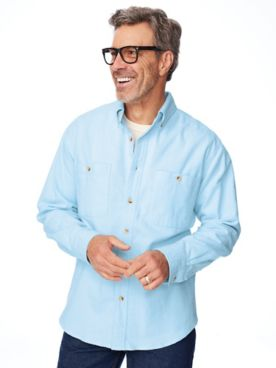 Scandia Woods Cotton Chamois Shirt