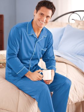John Blair® Long Tricot Pajamas