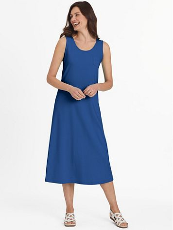Take It Easy Sleeveless Dress - Image 1 of 9