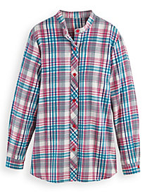 Plaid Flannel Tunic by Blair
