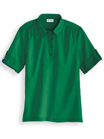Pullover Poplin Shirt - Image 0 of 2