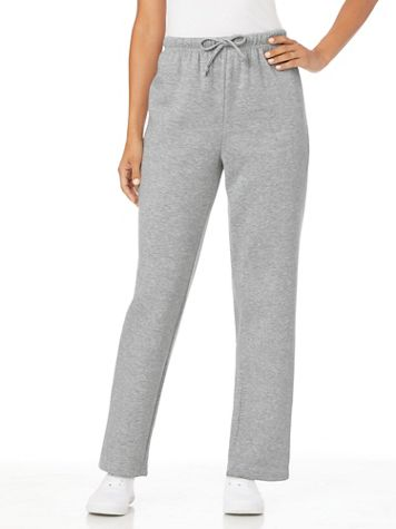 Better-Than-Basic Drawstring-Waist Fleece Sweatpants - Image 1 of 11
