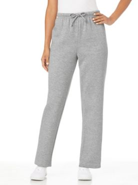 Better-Than-Basic Drawstring-Waist Fleece Sweatpants