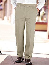 Men S Elastic Amp Adjustable Waist Pants Blair