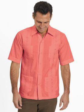TropiCool Short-Sleeve Guayabera Shirt