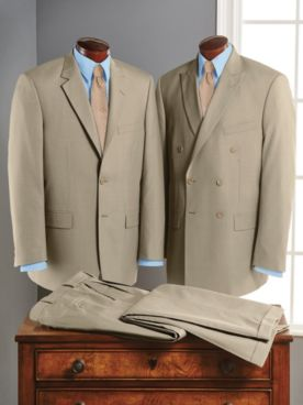 Personal Choice® Poly/Wool Blend Suit Separates