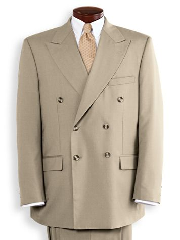 Double-Breasted Suit Coat