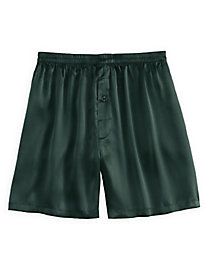 Men's Washable Silk Charmeuse Boxer