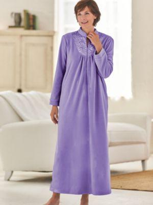Scandia Fleece Robe · Zip-Front ... 7378075e9