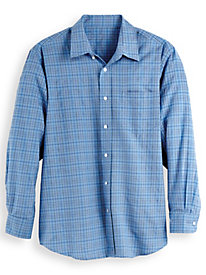 Wrinkle Resistant Long Sleeve Oxford Shirt by Blair