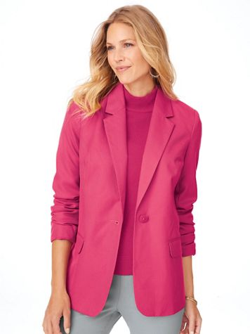 Elisabeth Williams® Fully Lined Blazer - Image 1 of 11