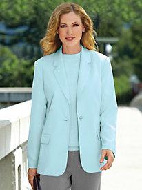 Elisabeth Williams® Fully Lined Blazer by Blair