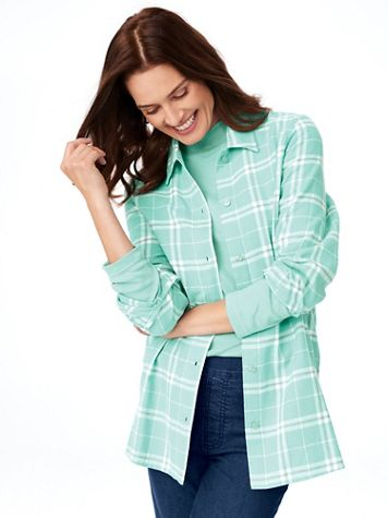 Super-Soft Flannel Shirt - Image 1 of 13