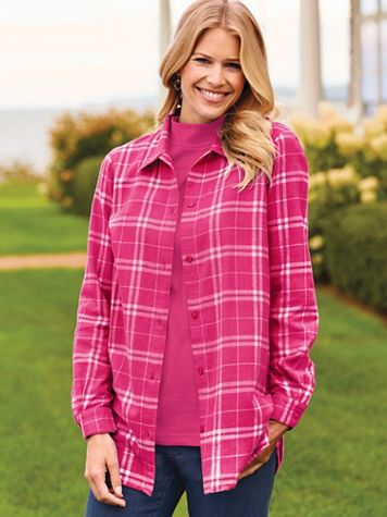 Super-Soft Flannel Shirt - Image 1 of 10