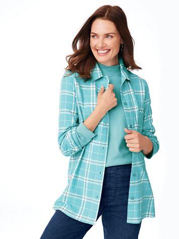 Super-Soft Flannel Shirt - Image 1 of 8