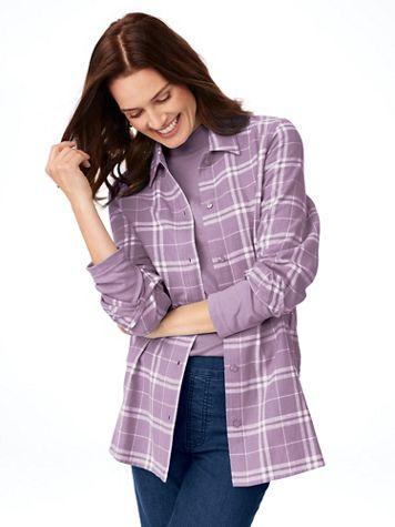 Super-Soft Flannel Shirt - Image 1 of 10