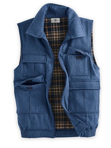 Scandia Woods Flannel Lined Insulated Vest