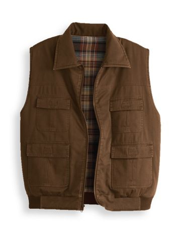 Scandia Woods Flannel Lined Insulated Vest - Image 0 of 1