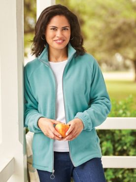 Scandia Fleece Zip-Front Jacket