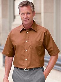 Irvine Park® Short Sleeve Broadcloth Dress Shirt by Blair