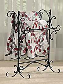 Holly & Martin? Iron Blanket Rack