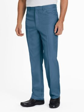 Gentlemen's Classic-Fit Plain-Pocket Pants