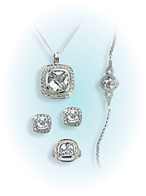 Cushion Cut Cubic Zirconia Jewelry