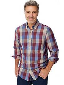 Irvine Park® Multi Plaid Shirt