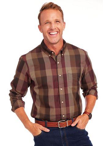 Irvine Park® Multi Plaid Shirt - Image 1 of 4