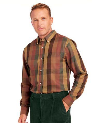 Irvine Park® Multi Plaid Shirt