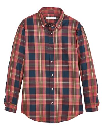 Irvine Park® Multi Plaid Shirt - Image 2 of 2