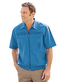 1950s Style Mens Shirts John Blair Full-Zip Shirt $26.99 AT vintagedancer.com