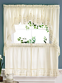4 camelot eyelet window coordinates - Kitchen Curtain