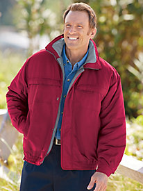 Scandia Woods® Microfiber Jacket by Blair