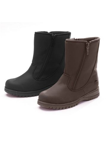 Rosie 2 Double-Zip Winter Boots by Totes® - Image 1 of 3