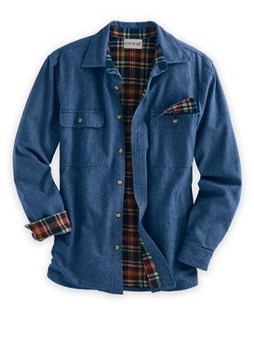 John Blair Flannel-Lined Shirt - Image 2 of 2