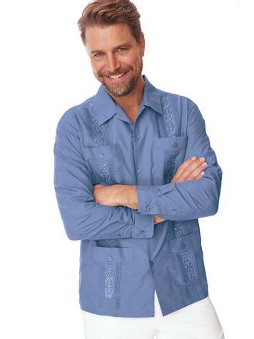 TropiCool® Guayabera Shirt - Image 1 of 8