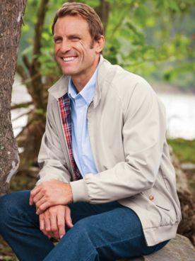 John Blair® Rain-Resistant Poplin Jacket