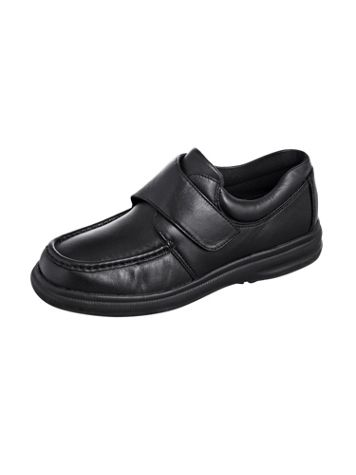 Hush Puppies® Zero G Strap-Close Leather Shoes - Image 1 of 3