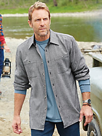 John Blair Signature Flannel Tweed Shirt
