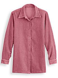 Corduroy Big Shirt by Blair