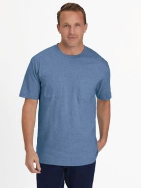 Everyday Jersey Knit Two-Pocket Tee Shirt