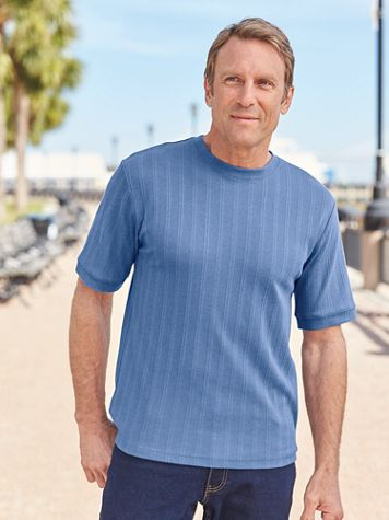 John Blair® Short-Sleeve Crewneck Pullover Shirt - Image 1 of 7