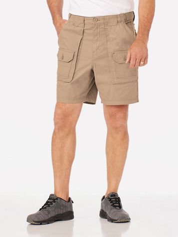 Adjust-A-Band 7-Pocket Cargo Shorts - Image 1 of 3