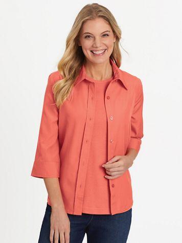 Fiesta Three-Quarter Sleeve Shirt - Image 1 of 12