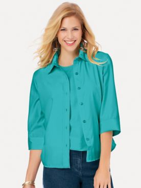 Fiesta Three-Quarter Sleeve Shirt