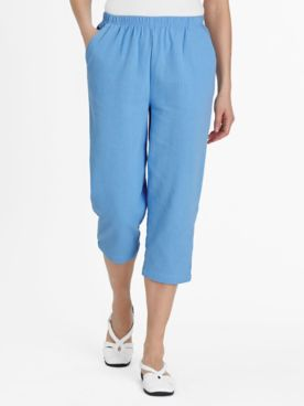 Pull-On Calcutta Cloth Capris