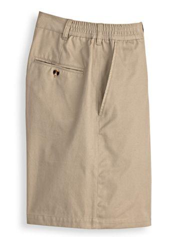 John Blair Side-Elastic Poplin Shorts - Image 1 of 4