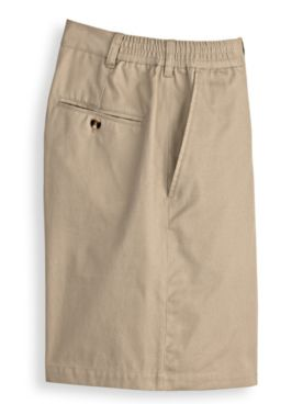 John Blair Side-Elastic Poplin Shorts